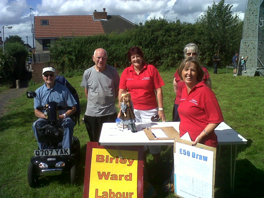 Birley Ward Labour Party at Frecheville Pond and Park Fun Day