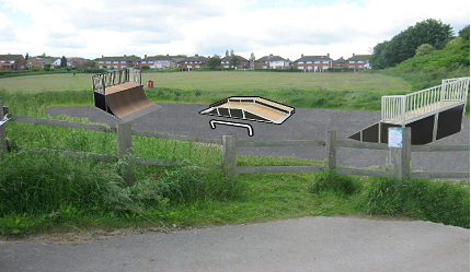 Birley Ward Skate Park Proposal Mock-Up