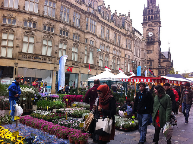 Sheffield City Centre Shopping
