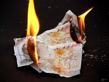Sheffield Lib Dems Burning Money