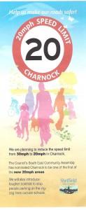 Charnock 20mph zone
