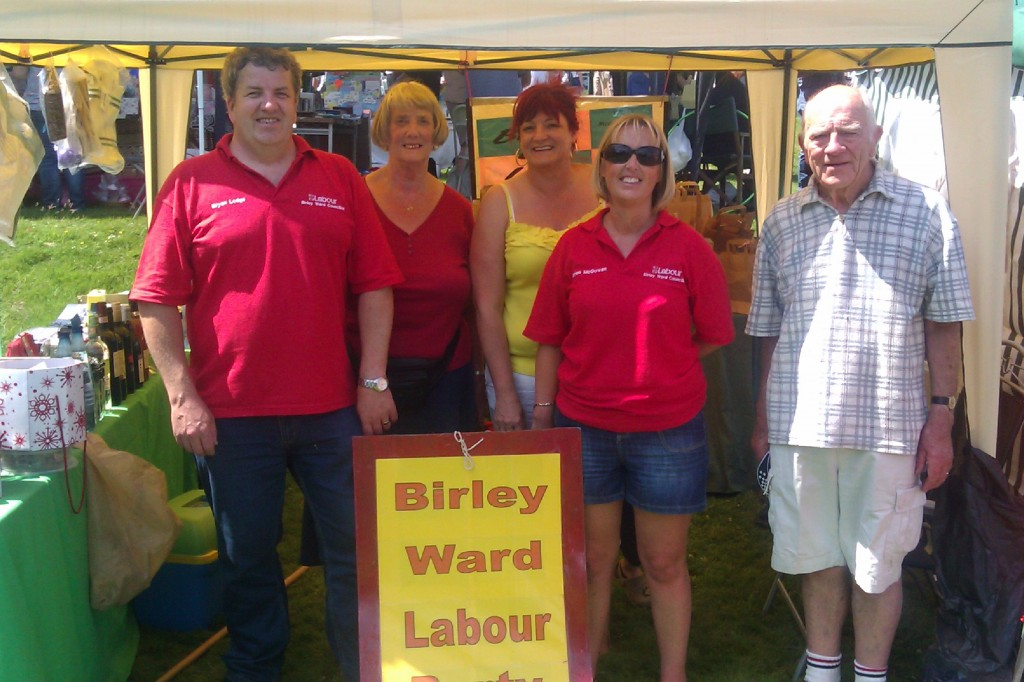 Birley Labour at the South Yorkshire Festival Wortley Hall Image 1