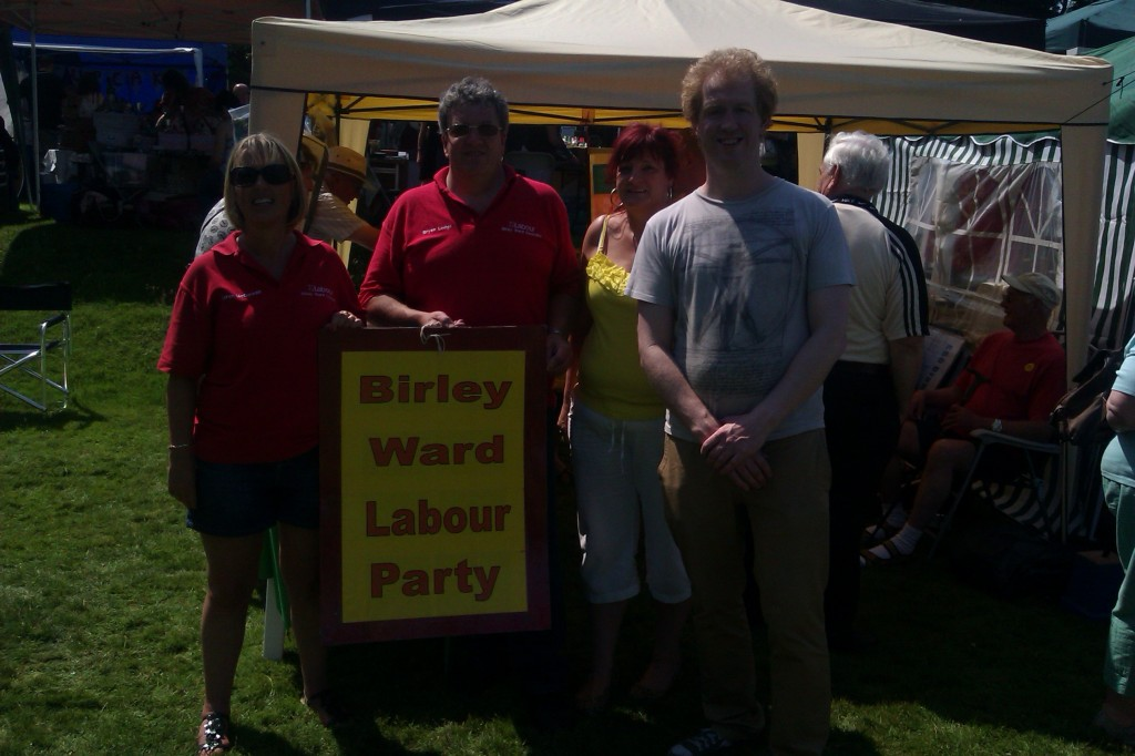 Birley Labour at the South Yorkshire Festival Wortley Hall Image 3