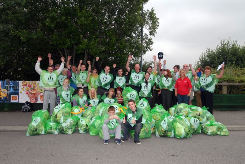 McDonald's Drakehouse Litter Pick 21-7-13 (2)